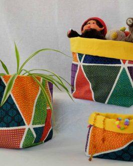 vide poche motifs aztèque